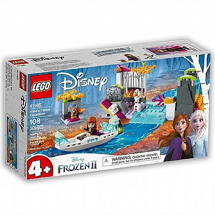 LEGO Disney - Disney Frozen 2 - A Expedicao de Canoa da Anna - 41165
