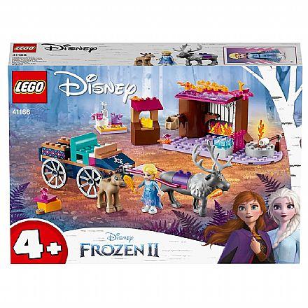 LEGO Disney - Disney Frozen 2 - A Aventura em Caravana da Elsa - 41166