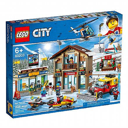 LEGO City - Resort de Esqui - 60203