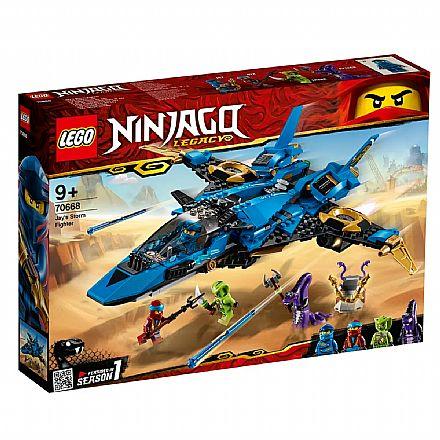 LEGO Ninjago - O Storm Fighter de Jay - 70668