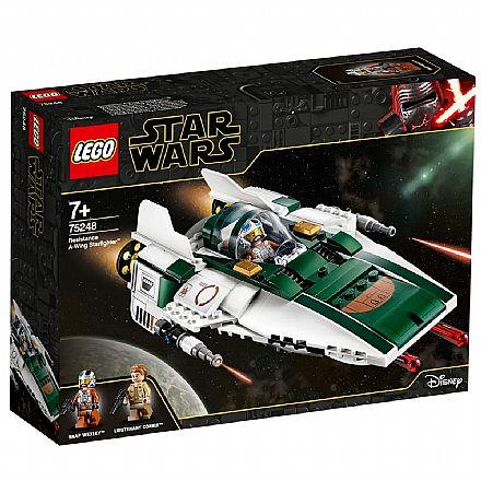 LEGO Star Wars - A-Wing Starfighter da Resistencia - 75248