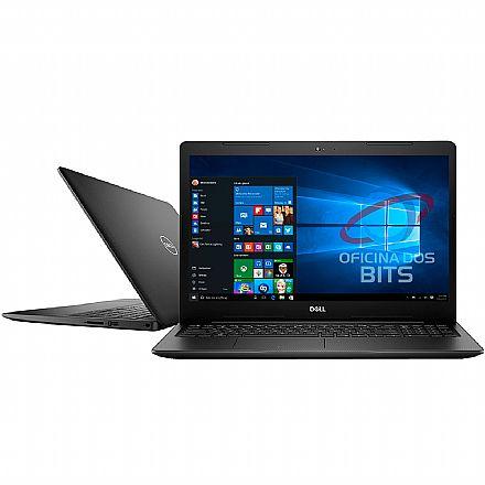 "Notebook Dell Inspiron i15-3583-A20P - Tela 15.6"" HD, Intel i5 8265U, 16GB, HD 2TB, Vídeo Radeon 520, Windows 10 - Preto"