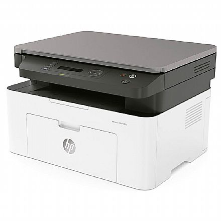 Multifuncional Laser HP LaserJet MFP 135A - USB - Impressora, Copiadora e Scanner - 4ZB82A