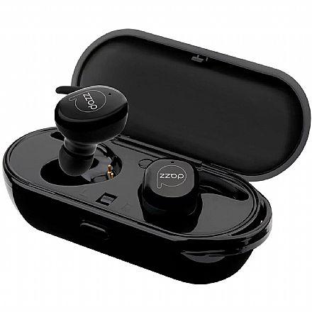 Fone de Ouvido Intra-Auricular DAZZ Earbudd Prodigy - com Microfone - com Case Carregador - Preto - 6013246