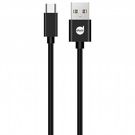 Cabo USB-C para USB - 90cm - USB Tipo C - Preto - Dazz 6013724