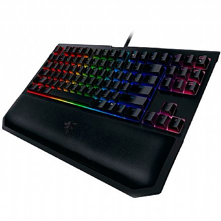 Teclado Mecânico Razer Blackwidow Tournament V2 Chroma - Switch Razer Yellow - Padrão US - RZ03-2019090