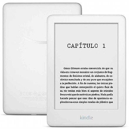 Kindle 10ª Geração - 4GB - Wi-Fi - Luz de Leitura Integrada - Tela Antirreflexo - Branco - AO0741