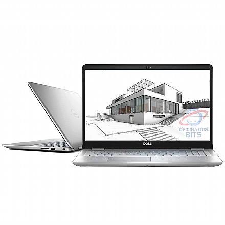 "Notebook Dell Inspiron i15-5584-A20S - Tela 15.6"" HD, Intel i5 8265U, 16GB, HD 1TB, GeForce MX130, Windows 10 - Prata"