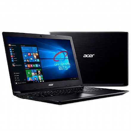 "Notebook Acer Aspire A315-53-52ZZ - Tela 15.6"" HD, Intel i5 7200U, 8GB, SSD 240GB, Windows 10"