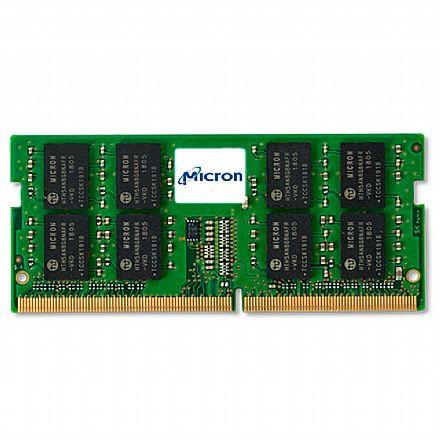 Memória SODIMM 16GB DDR4 2400MHz Micron - para Notebook [i]