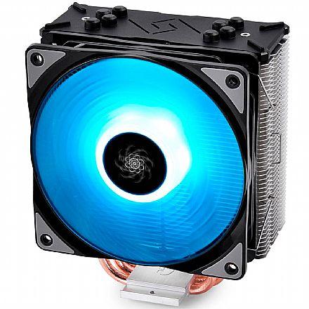 Cooler DeepCool Gammaxx GTE RGB (AMD / Intel) - com LED RGB - DP-MCH4-GMX-GTE