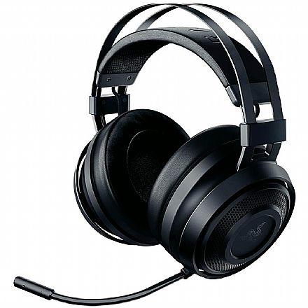 Headset Gamer Razer Nari Essential - 7.1 Virtual Surround - com Microfone - Conector USB Wireless 2.4 GHz - RZ04-02690100-R3U1
