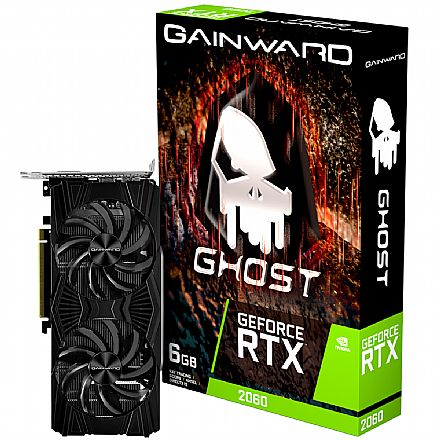 GeForce RTX 2060 6GB GDDR6 192bits - Ghost - Gainward NE62060018J9-1160X