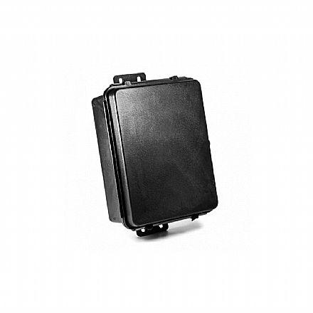 Caixa Hermética - Preta - para instalação de Switch, Hubs, Placas, etc - 17x13x6,5cm