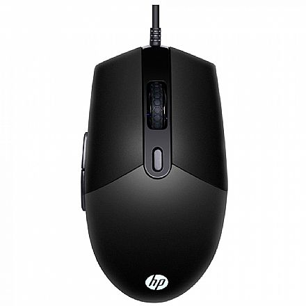 Mouse Gamer HP M260 - 6400dpi - 6 Botões - LED RGB - Preto - 7ZZ81AA