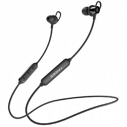 Fone de Ouvido Bluetooth Intra-Auricular Edifier - com Microfone - Resistente à água - Função Magnética - Preto - W200BT-se