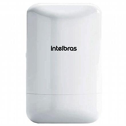 CPE Intelbras APC 5A-15 - 5 GHz - Antena 15dBi - 1 porta PoE 10/100Mbps - Alcance de até 6km - Throughput TCP efetivo de até 180Mbps