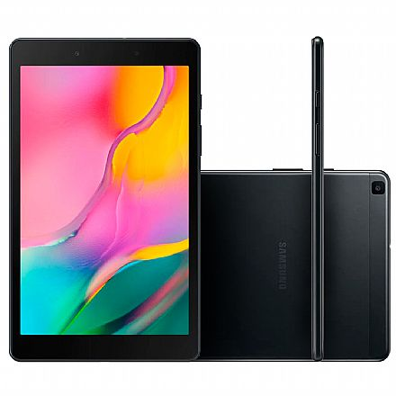 "Tablet Samsung Galaxy Tab A T290 - Tela 8"", Android, 32GB, Quad-Core, Wi-Fi - SM-T290/32 - Preto"