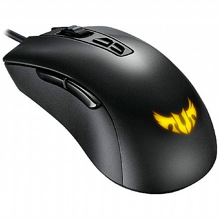 Mouse Gamer ASUS TUF Gaming M3 - 7000dpi - 7 botões - USB - LED RGB Aura Sync - Preto - 90MP01J0-B0UA00