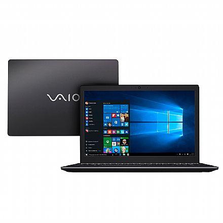 "Notebook Vaio Fit 15s VJF155F11X-B0311B - Tela 15.6"", Intel i7 7500U, 8GB, HD 1TB, Windows 10"