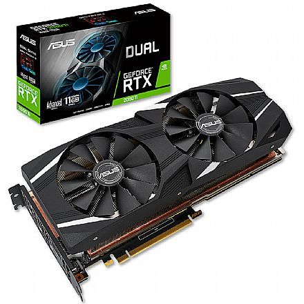 GeForce RTX 2080 Ti 11GB GDDR6 352bits - Asus 90YV0C43-M0NA00