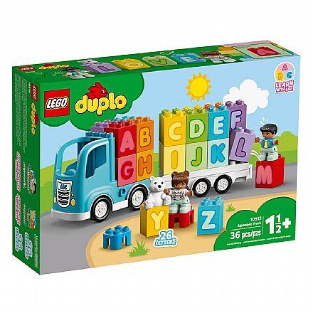 LEGO Duplo - Caminhão do Alfabeto - 10915
