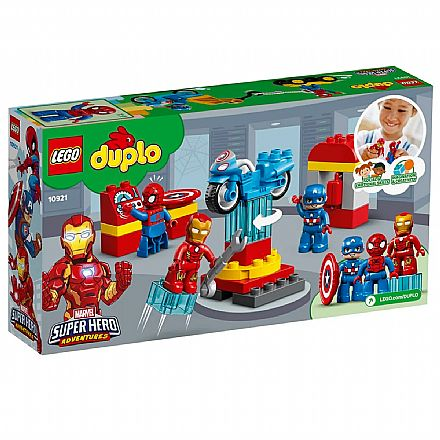 LEGO Duplo - Laboratório de Super-Heróis - 10921