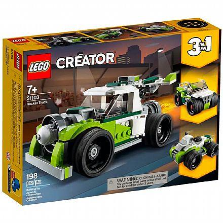 LEGO Creator - Caminhão Foguete - 31103