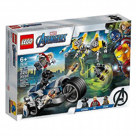 LEGO Super Heroes - Ataque dos Vingadores em Speeder Bike - 76142