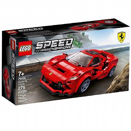 LEGO Speed Champions - Ferrari F8 Tributo - 76895