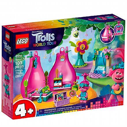 LEGO Trolls - Word Tour - O Pod de Poppy - 41251