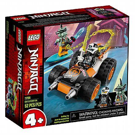 LEGO Ninjago - O Carro de Corrida do Cole - 71706