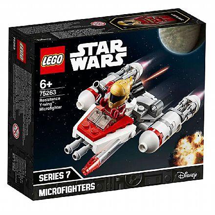 LEGO Star Wars - Disney - Microfigher Y-Wing da Resistência - 75263