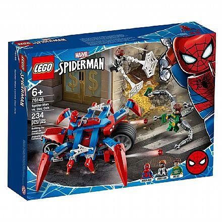 LEGO Super Heroes - Disney - Marvel - Homem Aranha - Spider-Man vs Doc Ock - 76148