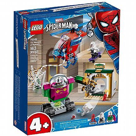 LEGO Super Heroes - Disney - Marvel - Homem Aranha - A Ameaça de Mysterio - 76149