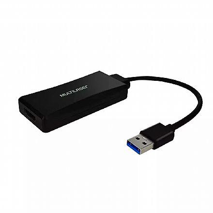 Adaptador Conversor USB para HDMI - Multilaser WI347