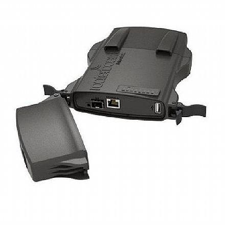 Bridge Wi-Fi Mikrokit - 5 GHz - Alimentação PoE - Slot MiniPCI-Express - Portas USB e SFP