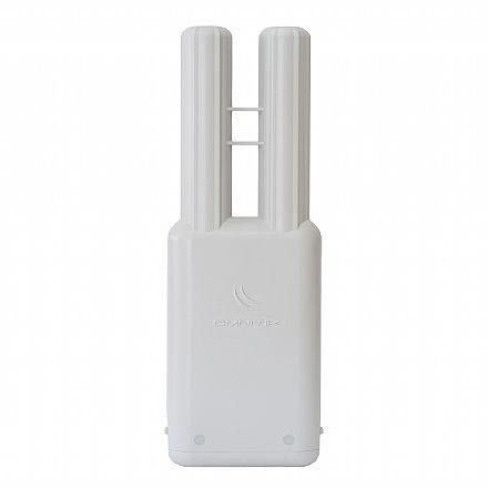 Bridge Wi-Fi Mikrokit - 5 GHz - Antena 7.5 dBi - Alimentação PoE - Porta USB - RBOmniTikU-5HnD