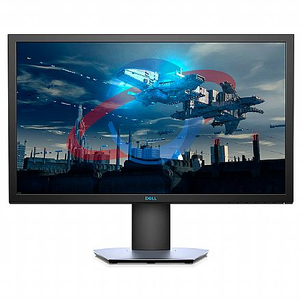 "Monitor 24"" Dell Gamer S2419HGF - Tela LCD Full HD 1920x1080 - 1 MS - FreeSync - 144Hz - Furação VESA - Outlet - Garantia 90 dias"