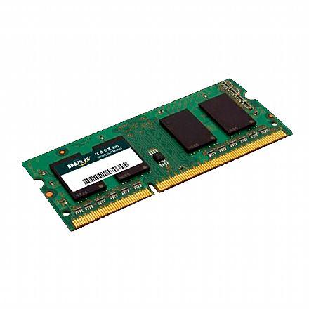 Memória SODIMM 8GB DDR3L 1600MHz - para Notebook - Low Voltage - BPC BPC1600D3LCL11S/8GG