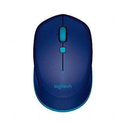 Mouse sem Fio Logitech M535 - Bluetooth - 1000dpi - Azul - 910-004529