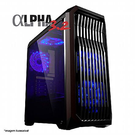 PC Gamer Bits Alpha 3.2 Powered by ASUS - Intel® i5 9400F, 8GB, HD 500GB, Geforce GTX 1650 4GB