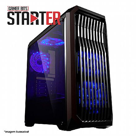 PC Gamer Bits Starter Powered by ASUS - Intel® i3 9100F, 8GB, HD 1TB - RX 560D 4GB