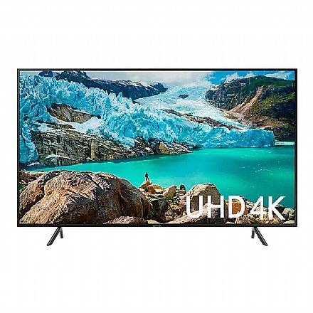 "TV 55"" Samsung UN55RU7100 - Smart TV - 4K Ultra HD - HDR Premium - Wi-Fi e Bluetooth Integrado - HDMI / USB"