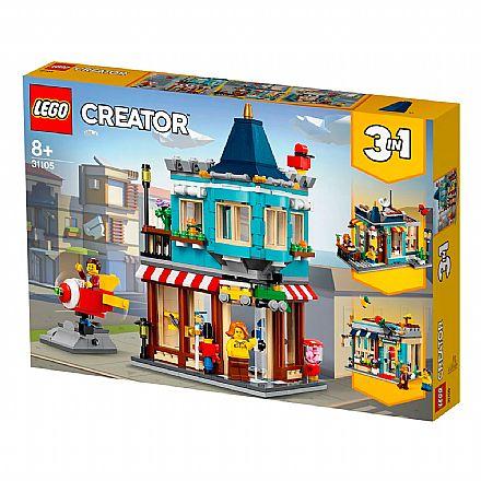 LEGO Creator - Loja de Brinquedos da Cidade - 31105