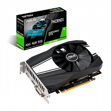 GeForce GTX 1660 Super 6GB GDDR6 192bits - Asus PH-GTX1660S-O6G