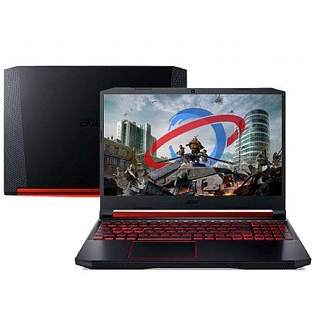 """Notebook Acer Aspire Nitro 5 AN515-54-76XC Gamer - Tela 15.6"""" IPS Full HD, Intel i7-9750H, 16GB, SSD 256GB + HD 1TB, GeForce GTX™ 1650 4GB - Endless OS"""