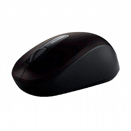 Mouse sem Fio Microsoft Mobile 3600 - BlueTrack Technology - Preto - PN7-00008