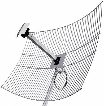 Antena de Grade 25dBi Direcional - Aquario MM-2425
