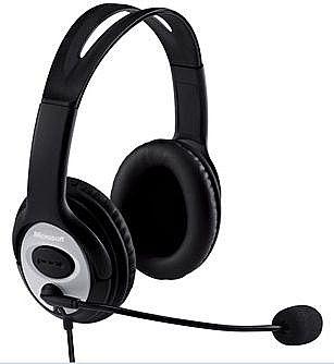 Headset Microsoft Lifechat LX-3000 - USB - JUG-00013